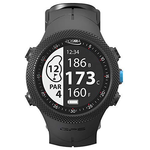 POSMA GB3 Golf Triathlon Sport GPS-Uhr - Entfernungsmesser - Laufen Radfahren Schwimmen Smart GPS-Uhr - Android iOS App