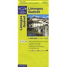Limoges Guéret : 1/100 000