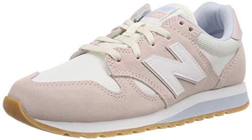 New Balance Damen 520 Sneaker, Pink (Conch Shell/Sea Salt Ci), 40 EU
