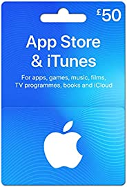 App Store & iTunes £50 Gift Card - by Post