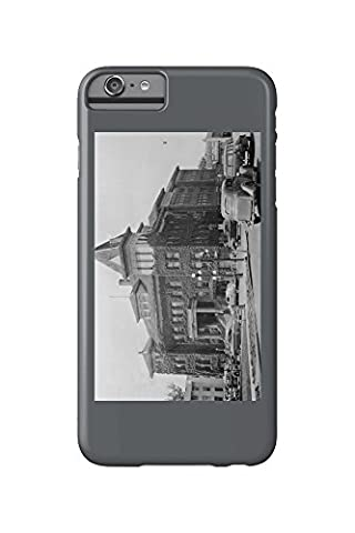Eugene, Oregon Scene with City Hall Photograph (iPhone 6 Plus Cell Phone Case, Slim Barely There)