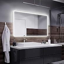 Badspiegel Sydney Mit Led Beleuchtung Badezimmerspiegel Bad Spiegel Wandspiegel | Suchergebnis Auf Amazon De Fur Spiegel Breite 120 Cm Weiss