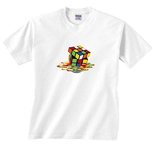 Puzzle en forma de cubo de fusión Sheldon Big Bang Theory–camiseta