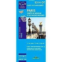 Paris / Forêts de Meudon et de Fausses Reposes gps (Ign Map)