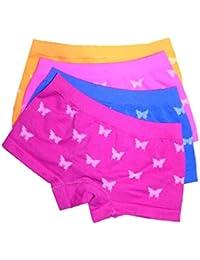 LisaModa Mädchen Panty 4er Pack Seamless Bunt