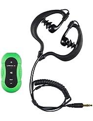 Ultratec MP3-Player wasserdicht / Sport MP3 Player fürs Schwimmen oder den Strand, wasserfester Musikplayer für MP3 und WMA, mit Clip zum Befestigen an Badehose oder Schwimmbrille / 4 GB Speicher