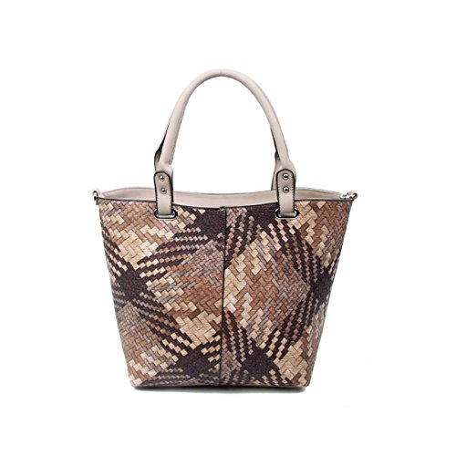 OBC Only-Beautiful-Couture, Borsa a mano donna beige cachi xl cachi