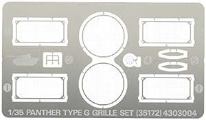 Tamiya - 35172 - Maquette - Grilles En Photo-Découpe Pour Panther G - Echelle 1/35