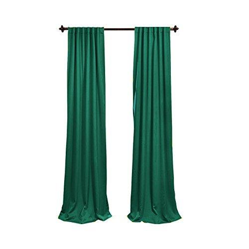 Die Linen Polyester Poplin schmückt Party-Dekoration, 96x 58, Teal by Die Linen (Party Teal Dekorationen)