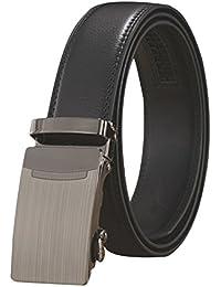 La Vogue Ceinture Homme Classique Similicuir Boucle Automatique Belt Longueur 110cm