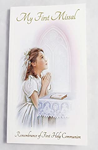 My First Missal Book Remembrance Of 1st Holy Communion Pocket For Girl Prayer