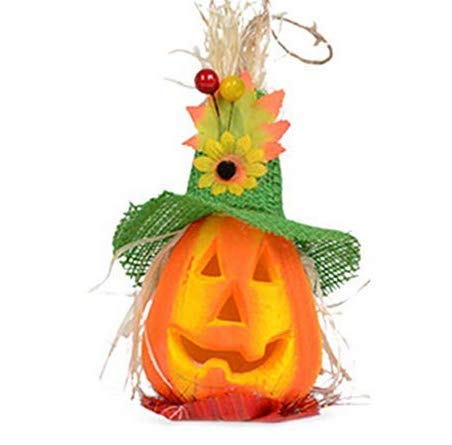 Hemore Spielzeug und Spiele Halloween-Kürbis leuchtet Spielzeug Dekoration grüner Hut Abschnitt eine geladene (gegen Gebühr) Hohe Kostenleistung, lustiges Spielzeug