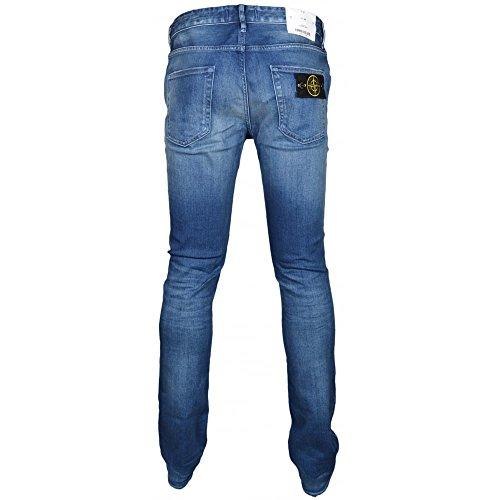 Stone Island - Jeans - Homme gris Délavé Délavé
