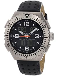 Momentum Herren-Armbanduhr XL FORMAT 4 Analog - Digital Quarz Leder 1M-SP24B2B