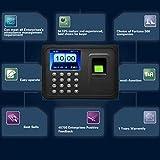 fghdfdhfdgjhh Biometrische A6 2,4-Zoll-TFT-USB-32-Bit-CPU-Fingerprint-Zeiterfassung Machine Clock Record Keine Notwendigkeits-Software