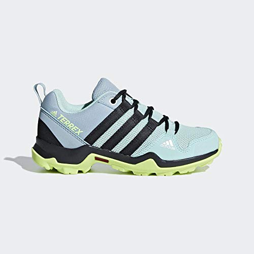 adidas Unisex-Kinder Terrex Ax2r K Walkingschuhe, Grün (Clear Mint/Carbon/Hi/Res Yellow Clear Mint/Carbon/Hi/Res Yellow), 38 EU