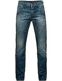 Cipo&Baxx Herren Jeans Hose C-788 Blau