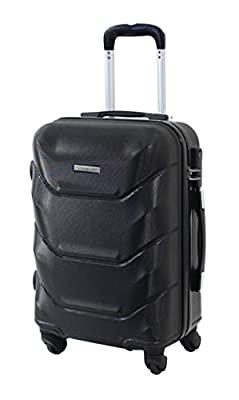 "Valise Taille Cabine 55cm Alistair ""Iron"" - Abs Ultra Légère - 4 roues"