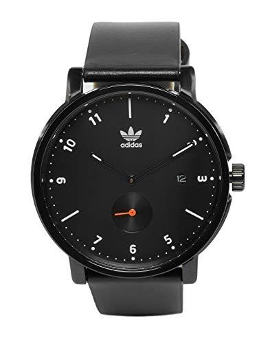 Adidas Originals District LX2 - Reloj de Pulsera (Talla única), Color Negro, Blanco y Naranja