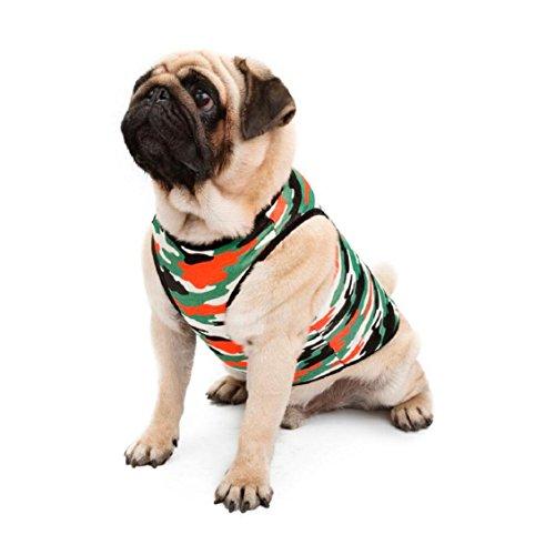 Hunde Kleidung, Transer® Cute Pet Puppy Westen Dog Coats Camouflage Baumwolle Weste Hund Kleidung Teddy Pet Jumpsuit Kleidung für Haustier Hunde Kostüme (Bear Teddy Dog Kostüm)