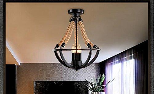 Schwarze Outdoor-esstisch (Sai Tai@LED Pendelleuchte Höhenverstellbar Küchen Deckenleuchte Wohnzimmer Designleuchte Deckenlampe Schlafzimmer Modern ,schwarz,Eisen,38cm*H47cm)