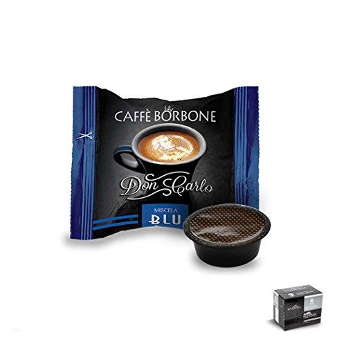Borbone capsule don carlo blu 50 pz box 50 capsule compatibili lavazza a modo mio