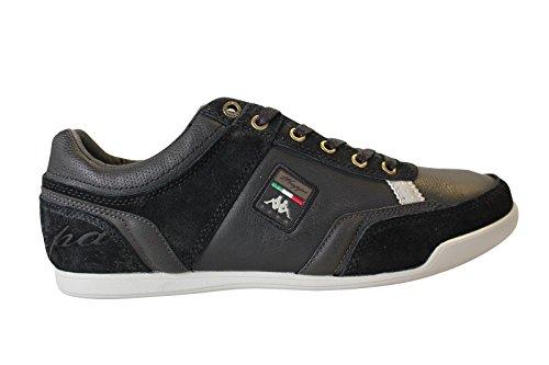 Kappa Sampha Man, Herren Sneaker Schwarz - Schwarz