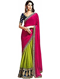 Saree(saree By Saree Mandir Sarees For Women Party Wear Half Sarees Offer Designer Below 500 Rupees Latest Design...