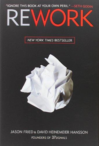 Buchseite und Rezensionen zu 'Rework' von Jason Fried