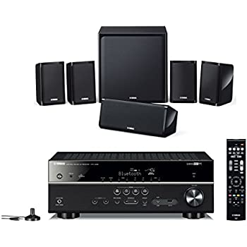 Yamaha APKYHT4940EUBL, Kit Home Cinema 5.1, Nero
