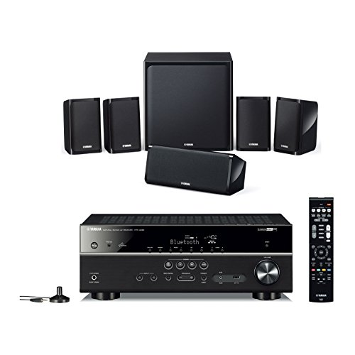 Yamaha apkyht4940eubl, Kit Home Cinema 5.1, Schwarz