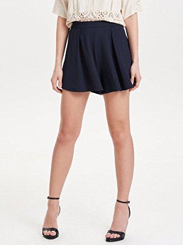 ONLY - Femme loose fit shorts helle Bleu Foncé