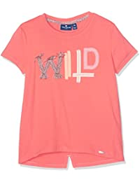 TOM TAILOR Kids Mädchen T-Shirt Tee with Colourful Tapes