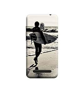 Ebby Premium Printed 3D Designer Back Case Cover For Asus Zenfone 5 (Premium Designer Cae)