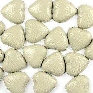 Coeurs chocolat Ivoire (paquet de 20)