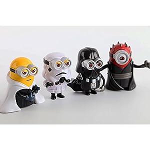 Los MINIONS 4 Personajes StarWars Star Wars D Vader D Maul Luke Skywalker 4194 9