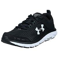 Under Armour Charged Assert 8, Men's Running Shoes, Black (Black/White), 44 EU