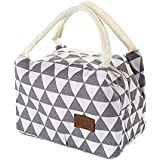MYEDO Insulated Lunch Bag Lunch Organizer Lunch Holder Lunch Container Gray