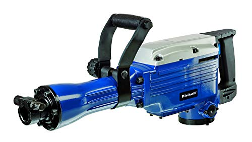 Einhell BT-DH 1600 - Martillo demoledor, cabezal SDS, fuerza de percusión 43 J, cable 200 cm, 1500 rpm, 1600 W, 230 V, color azul (ref. 4139067)