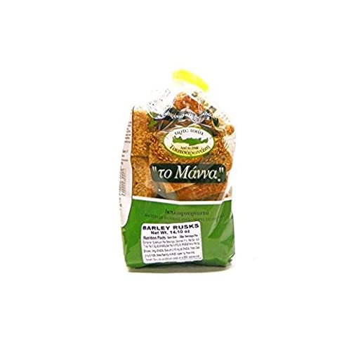 To Manna Small Rusks 400g