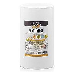 Erythritol Eryhrit Zucker-Ersatz aus Finnland 1 kg Beutel