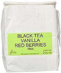 Hale Tea Black Tea, Decaf Vanilla Red Berries, 16-Ounce
