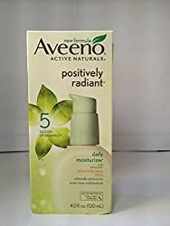 AVEENO Active Naturals Positively Radiant Daily Moisturizer SPF 15 4 oz