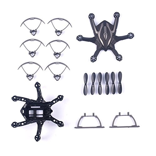 YouCute Spare Part Kit for i drone I6S Rc Quadcopter Drone Main Blade landing gear protecting frame Main frame