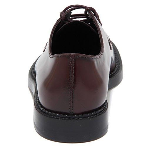 7023N scarpa uomo TOD'S DERBY bordeaux shoes man Bordeaux