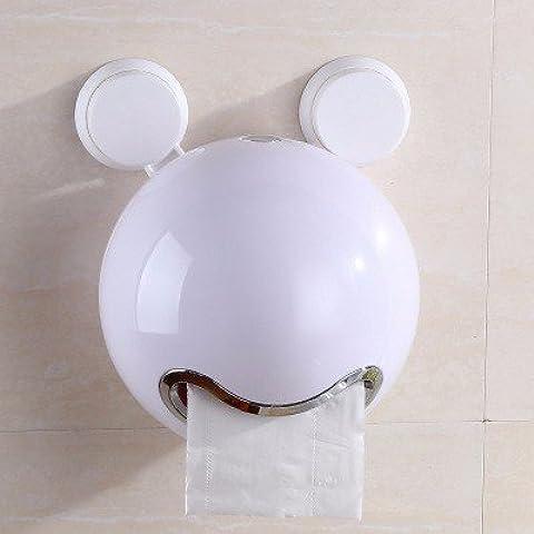 Libera creatività vassoio di pompaggio impermeabile perforata carta igienica, bianco perla