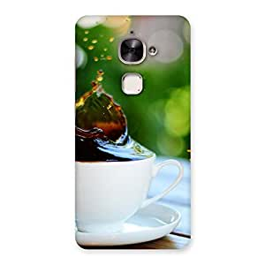 Neo World Coffee Cookie Splash Back Case Cover for Le 2