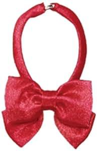 50 couleur solide ruban cravate setII marine / rouge (japon importation)
