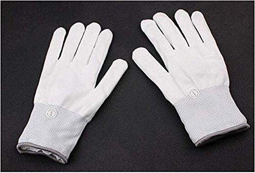 Halloween LED Luminous Gloves, Fiber Optic Light Glowing Handschuhe Creative & Cool Glowing Gloves für Party Celebration Weihnachten, Spiele, Bars, Nachtclub,Green