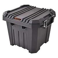 Tactix 30 Liter Heavy Duty Storage Box - Black